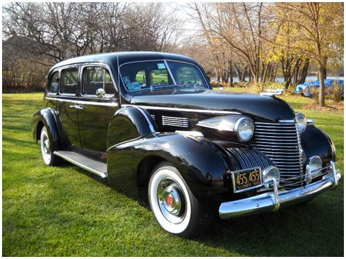 1940 Black Cadillac Imperial